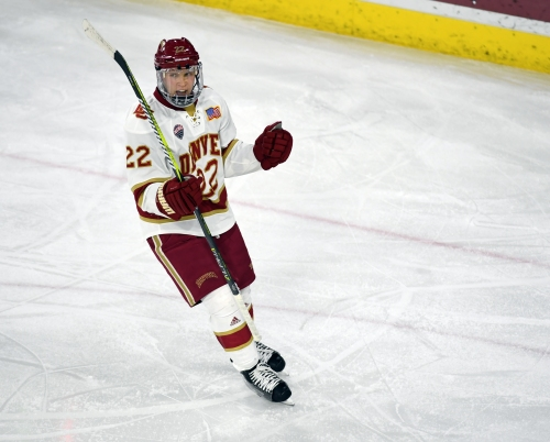 Logan O'Connor gives up DU captaincy to play his role with the Avalanche