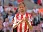 Report: Stoke City striker Peter Crouch on Burnley radar