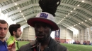 Giants cornerback Janoris Jenkins on an emotional summer and keeping his focus on the game