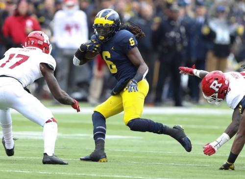 Michigan football's Kareem Walker, former top recruit, leaves program