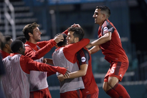 Srbely and Uccello the goal-scorers in first TFC II win of the season