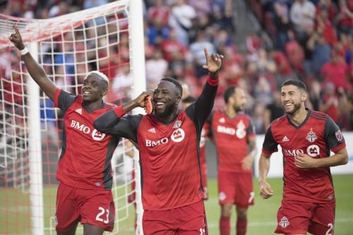 Toronto FC boosted by vintage performance from core players