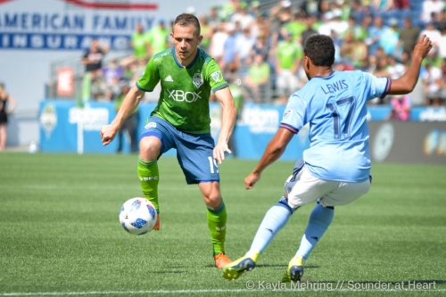 Shipp far from sinking as Sounders turn to roster depth