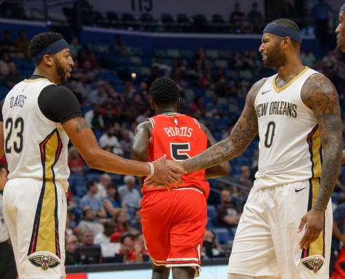 Report: Anthony Davis says DeMarcus Cousins 'went from a teammate to an enemy' in new interview