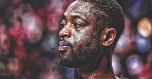 Dwyane Wade remains mum on basketball future, 'Only time will tell'