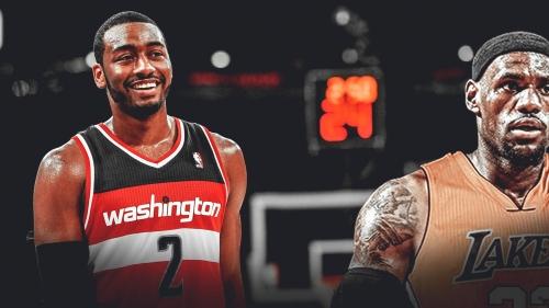 John Wall likes Washington's chances in a LeBron James-less East