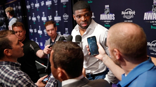 P.K. Subban on why NBA players are more outspoken than NHL stars