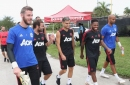 Manchester United line up vs Real Madrid includes Andreas Pereira, Fred and David de Gea