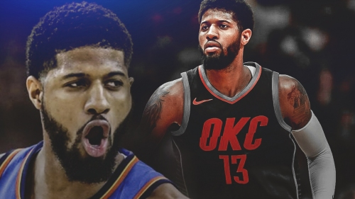 Paul George says he's not where he wants to be yet in recovery from knee surgery