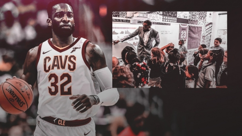 Jeff Green shouts out LeBron James for 'I Promise school'