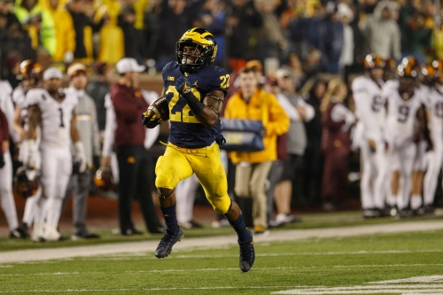 Michigan football's Karan Higdon ready to leave it all on the field