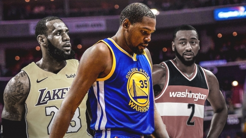 Lakers, Wizards out of the mix for Kevin Durant during 2019 'free agency tour'