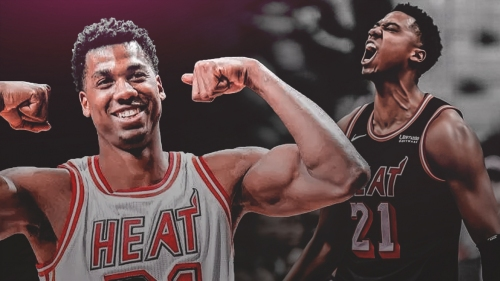 Hassan Whiteside feels like his 'regular self again'