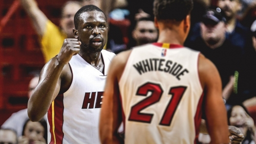 Hassan Whiteside says Luol Deng is one of the best teammates he's ever had