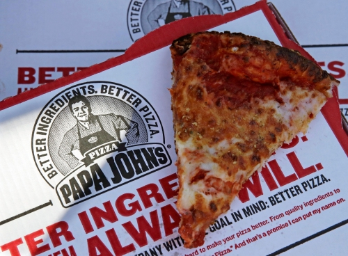 Texas Rangers resume Papa John's pizza promotion
