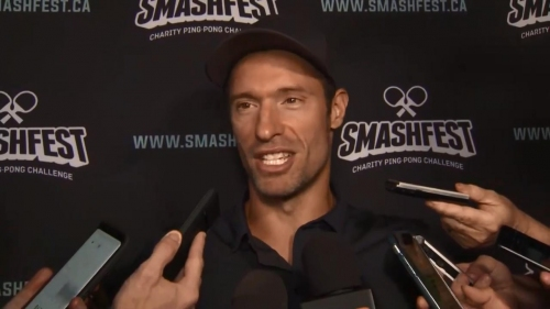 NHLers come out to support Moore's charity at Smashfest