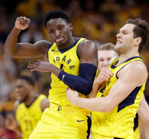 Pacers guard Victor Oladipo goes off for 54 points in Miami Pro League game