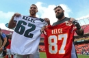 Don't miss the rebroadcast of the excellent ESPN E:60 segment about Travis and Jason Kelce this weekend
