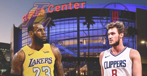 Clippers' Danilo Gallinari looking forward to LA games with LeBron James joining Lakers