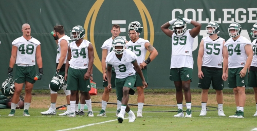 Michigan State football 'hungry,' focused on sustaining 2017 success