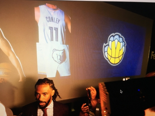 Southpaws rejoice!: Grizzlies' new logo set offers subtle nod to lefties
