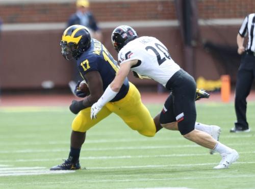 Michigan football TE Tyrone Wheatley Jr. no longer with team