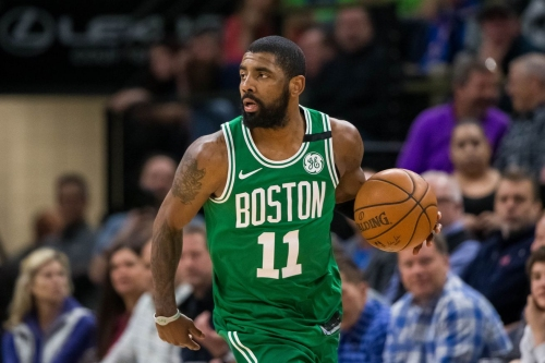 Oddsmakers believe Kyrie Irving will remain with Celtics