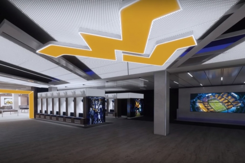 Shane Lyons doesn't want West Virginia to be last in facilities arms race