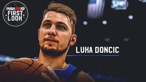 Mavs' Luka Doncic's NBA 2K19 rating revealed