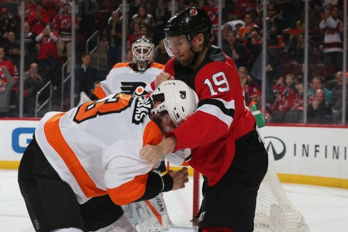 Devils Game Rewind: The Night Travis Zajac Beat Radko Gudas' Brains In
