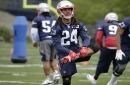 Bill Belichick: Patriots CB Stephon Gilmore and TE Dwayne Allen 'at a much higher point' than last season