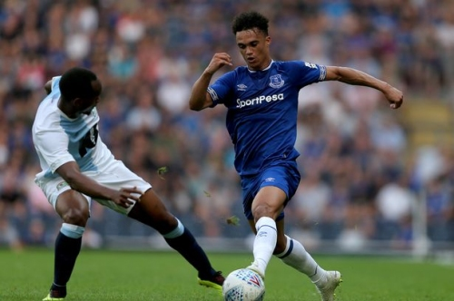 Antonee Robinson signs new three-year deal with Everton FC - then joins Wigan Athletic on loan