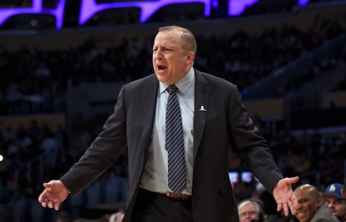 Timberwolves Head Coach Tom Thibodeau Believes Lakers Are 'Instant Contender' With Signing Of LeBron James