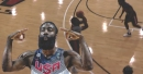 Rockets video: James Harden catches fire from beyond the arc at Team USA practice