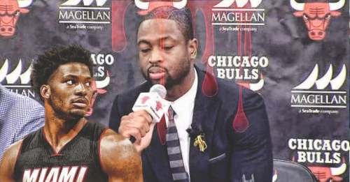 Justise Winslow says there was a bit of bad blood when Dwyane Wade joined Bulls
