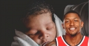 Bradley Beal posts a photo of his newborn son