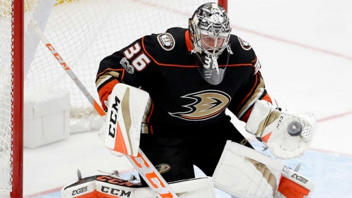 Ducks re-sign goaltender John Gibson to eight-year extension