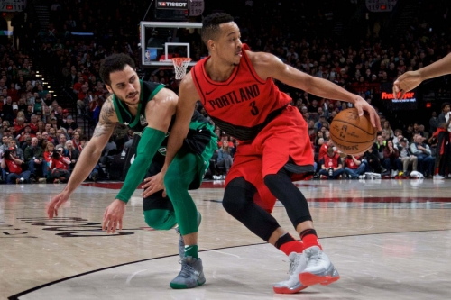 McCollum Crossover Ranks 8th in Official NBA Rankings