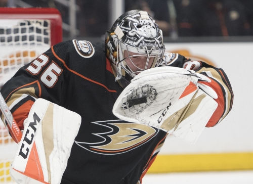 Ducks extend John Gibson's contract for eight years