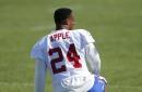 Sights and sounds of Giants' training camp: Beckham speaks, Eli Apple hobbles off