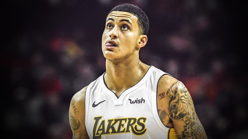 Video: Kyle Kuzma shows out at Isaiah Thomas' Zeke-End event