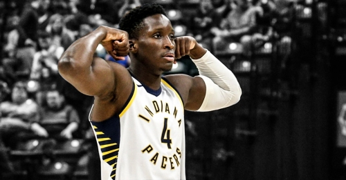 Video: Victor Oladipo throws alley-oop to self off the wall in one-on-one