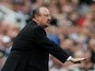 Rafael Benitez unhappy Newcastle United