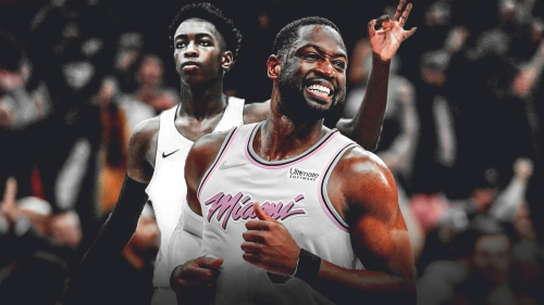 Dwyane Wade admits its great that other superstars watch his kid play AAU
