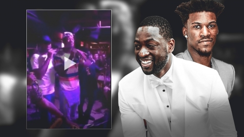 Heat news: Dwyane Wade does karaoke with Wolves' Jimmy Butler