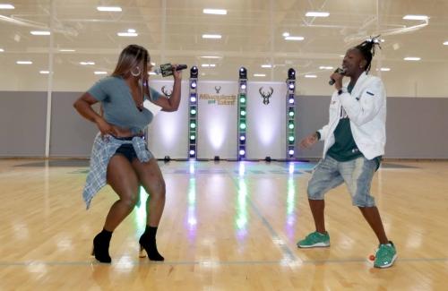 Milwaukee Bucks hold 'Milwaukee's Got Talent' tryouts
