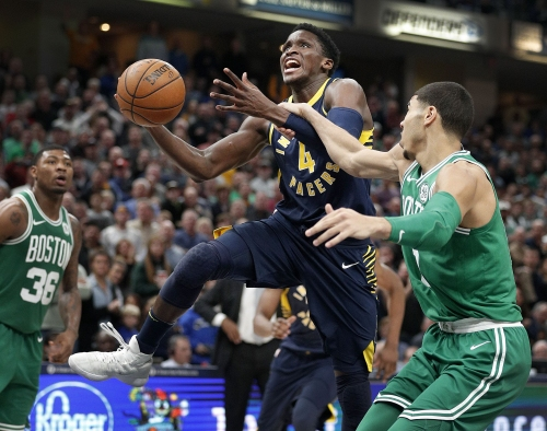 Victor Oladipo stands up for LeBron James, Pacers coach Nate McMillan and new teammates
