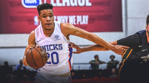 Former Knicks PG says rookie Kevin Knox is team's next 'superstar'