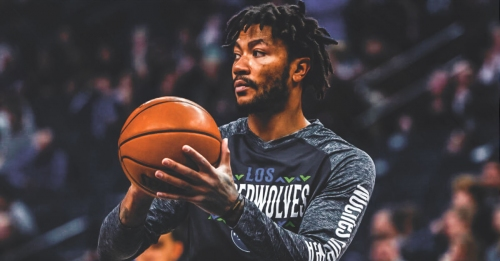 Timberwolves' Derrick Rose surprises a fan at home in China