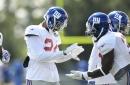 "Giants' CB Eli Apple ""fine"" after injury scare"